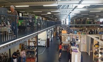 Løsninger til lagerindretning, arkiv og personalerum